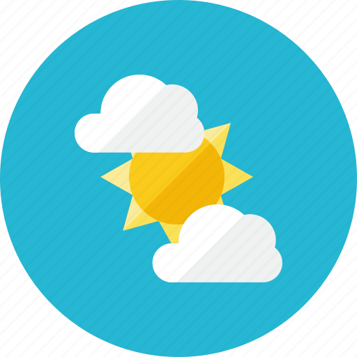 cloud, sunny icon