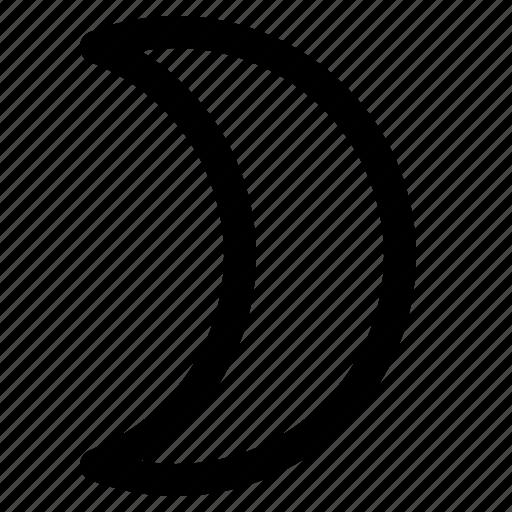 Clear night, dark, night, weather icon - Download on Iconfinder