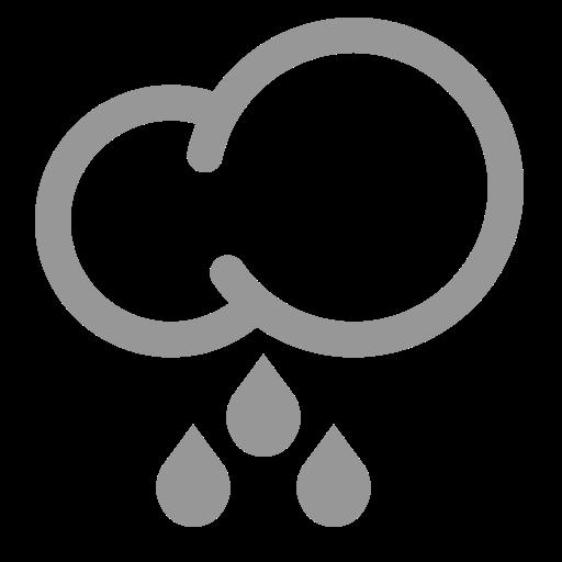 heavy rain, rain, weather icon