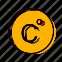 celcius, degree, forecast, temperature icon