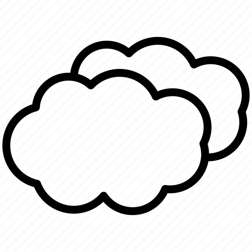 clouds, cloudy icon