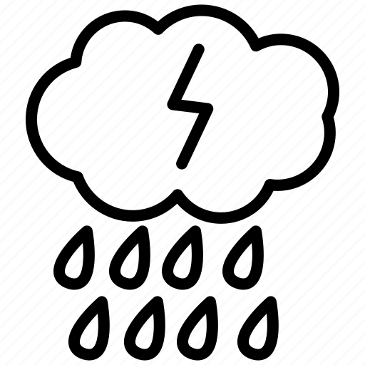 rain, storm, strike, strorm, thunder, thunderstorm, weather icon