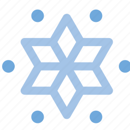 snowflake, weather icon