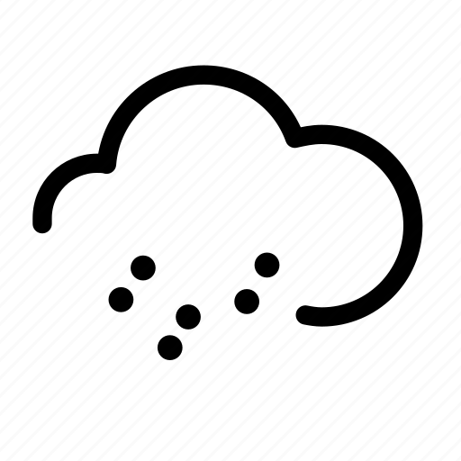 cloudy, rain, weather, weather froecast icon