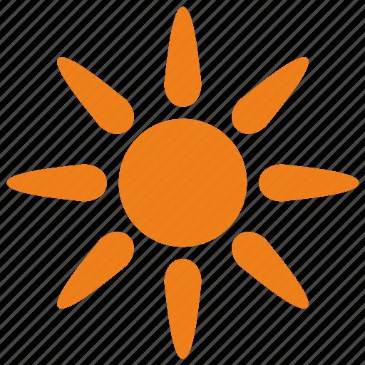Light, orange, shine, sun, weather icon - Download on Iconfinder