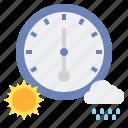 rain, son, barometer, pressure, atmospheric, barometric, scale