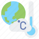 celsius, climate, cloud, earth, temperature, thermometer, weather