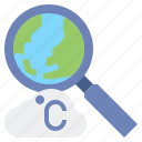 celsius, climatology, cloud, degrees, earth, temperature, weather icon
