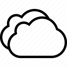 cloud, cloudy, weather icon
