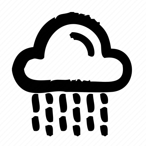 forecast, rain, report, temperature, weather icon