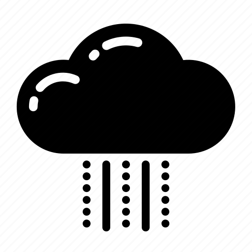 cloud, rain, sky, snow, summer, weather icon