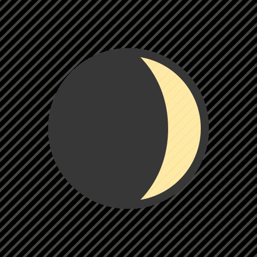 Moon, quarter, third quarter, weather icon - Download on Iconfinder
