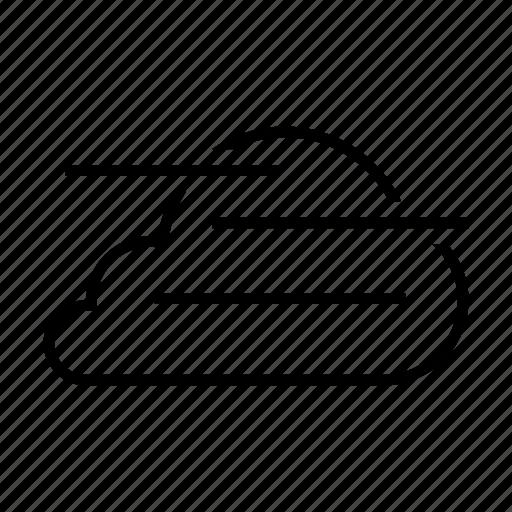 cloud, cloudy, fog, forcast, mist, weather icon