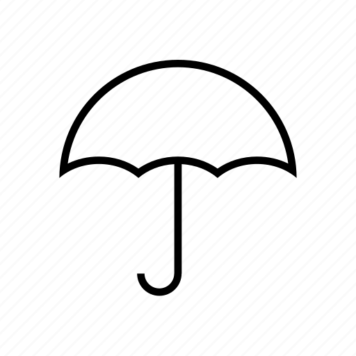 forcast, rain, umbrella, weather icon