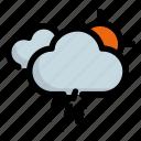 forecast, rain, sun, sunny, weather