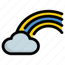 atmospheric, cloud, weather icon