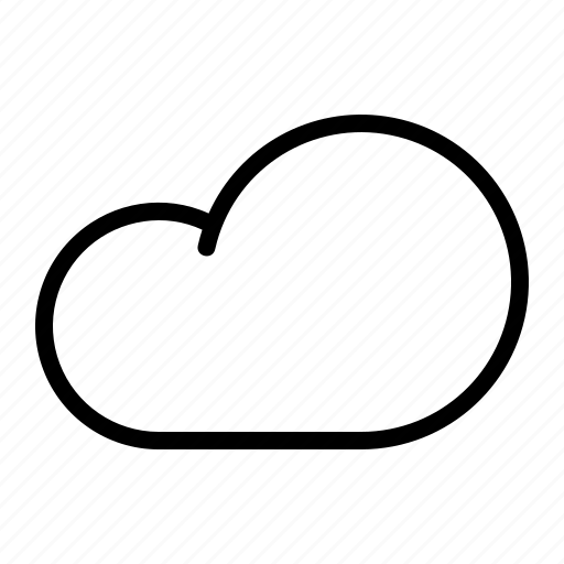 cloud, cloudy, forecast, rain, sky, weather icon