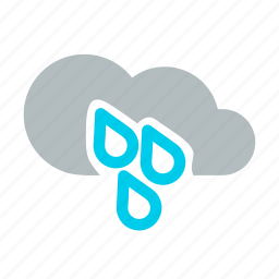 climate, cold, drizzle, drops, mix rainfall, rain, weather icon