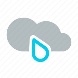 cold, drizzle, mix rainfall, rain, raindrop, storm, weather icon