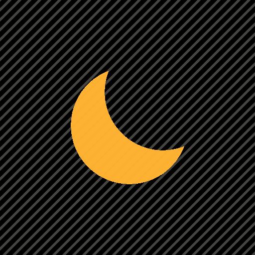 eid, eid moon, half moon, moon, night, weather icon