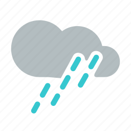 mostly rain, night, rain, rainfall, shower, storm, weather icon