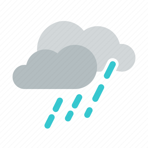 cloudy, forecast, raifall, rain, shower, storm, weather icon