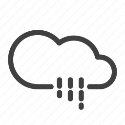 climate, drizzle, rain, rain night, rainy, scattered shower, weather icon