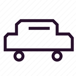 automobile, car, delivery, passenger car, supply, vehicle, web icon