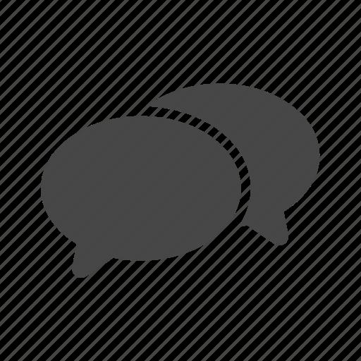 chat, internet, talking, web icon
