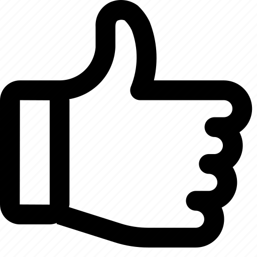 Hand, like, thumb up, up-vote icon - Download on Iconfinder