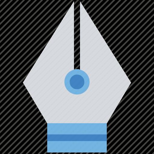 edit, nib, pen nib, web, writing icon