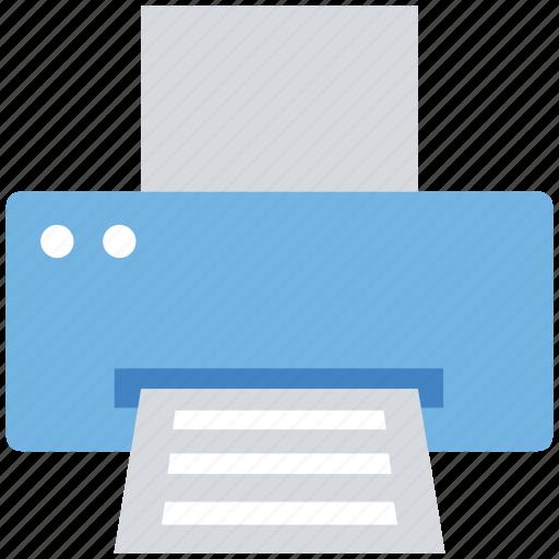fax, office, paper, print, printer, printing icon
