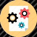 analytics, option, seeting, settings icon
