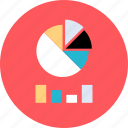 bars, data, graphic, high icon
