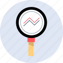 market, research, stock icon