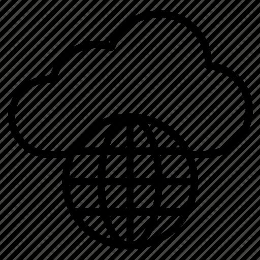 Cloud, storage, data, network, internet icon - Download on Iconfinder