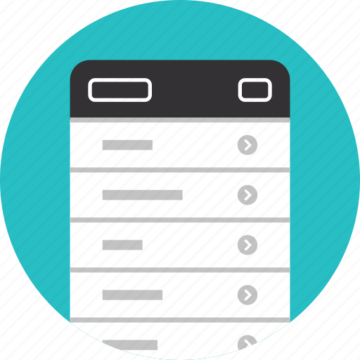 application, element, form, interface, layout, mobile, options, settings, ui icon