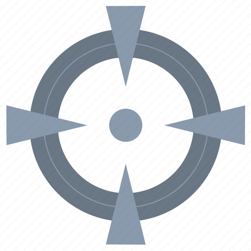 focus, goal, point, target icon