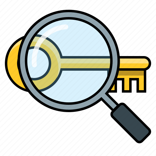 analyze keyword, check keyword, check keyword list, keyword competition icon
