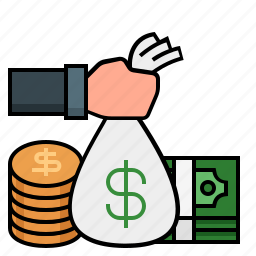 coins, gold coins, money, profit, rich, wealth icon