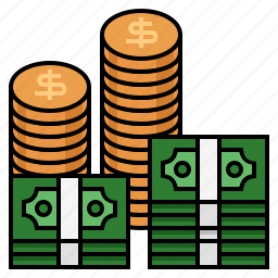 coins, gold, gold coins, money, profit, rich, richest icon