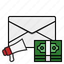 email, email advertisement, email marketing, marketing icon