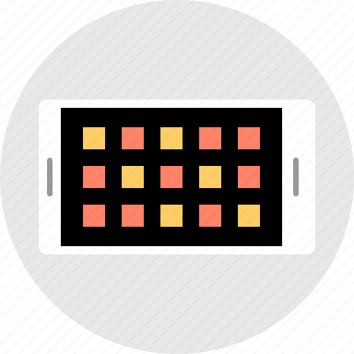 apps, mobile, technology icon