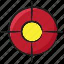 crosshair, customer focus, customer segmentation, focus group, target audience, target customer icon