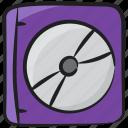 computer storage, hard disk, hard drive, hardware, hdd, storage device icon