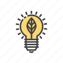 creative, creativity, idea, innovation, light icon