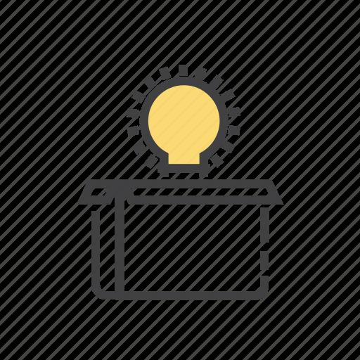 bulb, creative, fresh, idea, innovation icon