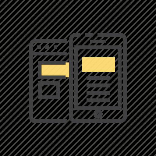 design, marketing, mobile, seo, ui, ux icon