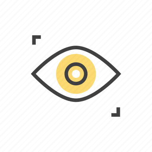 eye, find, seo, view, vision icon