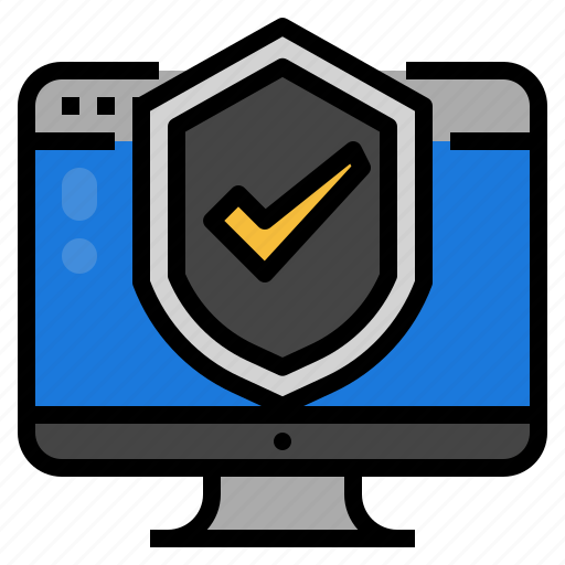 Data, information, security, technology icon